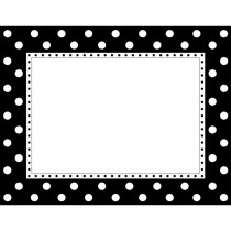 BCPLL830CH - Black & White Dot Chart in Classroom Theme