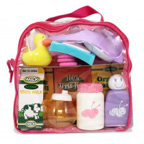 20 Piece Doll Accessory Bag - BER81102 | Jc Toys Group Inc | Doll House & Furniture