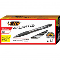 BICVLGB11BK - Bic Velocity Bold Blk 12Ct Pens in Pens