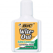 BICWOFEC12 - Bic Wite Out Correction Fluid Extra Coverage in Liquid Paper