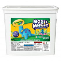 BIN232235 - 2 Lb Bucket Model Magic Pastel Colors in Clay & Clay Tools