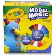 Model Magic Variety Pack, 9 Colors, 0.5-oz., 14 ct. - BIN232403 | Crayola Llc | Dough & Dough Tools