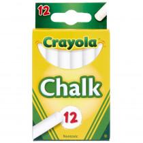 BIN320 - 12 Sticks - Tuck Box White Chalk in Chalk