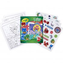 Color & Sticker Book, PJ Masks - BIN40077 | Crayola Llc | Art Activity Books