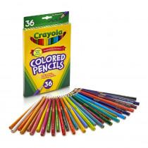 BIN4036 - Crayola Colored Pencils 36Ct Asst in Colored Pencils