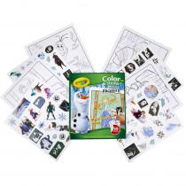 Color & Sticker Book, Frozen 2 - BIN45864 | Crayola Llc | Art Activity Books