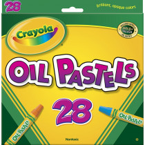 BIN524628 - Crayola Oil Pastels 28 Color Set in Pastels