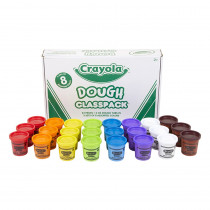 Dough Classpack, 3 oz., 24 Count - BIN570171 | Crayola Llc | Dough & Dough Tools