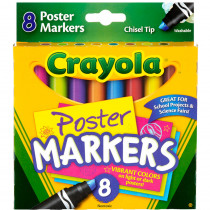 BIN588173 - Crayola 8Ct Poster Markers in Markers
