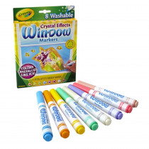 BIN588174 - Crayola Crystal Effects Window Markers in Markers