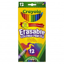 BIN684412 - Erasable Colored Pencils 12 Ct in Colored Pencils