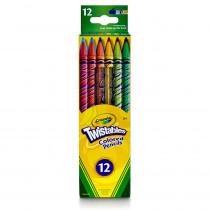 BIN687408 - Crayola Twistables 12 Ct Colored Pencils in Colored Pencils