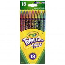 BIN687418 - Crayola Twistables 18 Ct Colored Pencils in Colored Pencils