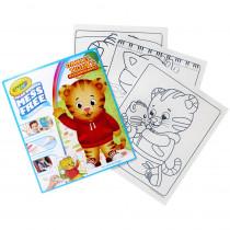 Color Wonder Mess Free Refill Book, Daniel Tiger's Neighborhood - BIN752392 | Crayola Llc | Art Activity Books