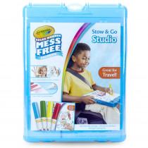 Color Wonder Mess Free Stow & Go Studio Travel Kit - BIN752580 | Crayola Llc | Art Activity Books