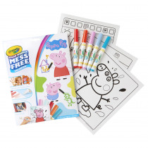 Color Wonder Mess Free Coloring Pad & Markers, Peppa Pig - BIN757000 | Crayola Llc | Art Activity Books