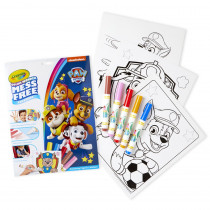 Color Wonder Mess Free Coloring Pad & Markers, Paw Patrol - BIN757007 | Crayola Llc | Art Activity Books