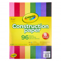 Construction Paper, 96 Sheets - BIN993000 | Crayola Llc | Construction Paper