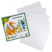 Kid's Sketchbook, 40 Pages - BIN993404 | Crayola Llc | Sketch Pads