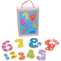 BJTBJ507 - 1-9 Number Puzzles in Wooden Puzzles