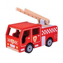 City Fire Engine - BJTJT131 | Bigjigs Toys | Toys