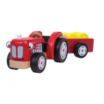 Tractor & Trailer - BJTT0502 | Bigjigs Toys | Toys