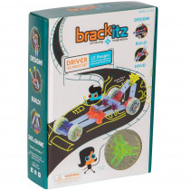 BKZBZ82211 - Brackitz Driver 43 Piece Set in Blocks & Construction Play