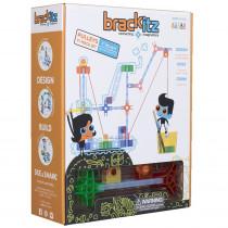 BKZBZ82213 - Brackitz Pulleys 77 Piece Set in Blocks & Construction Play