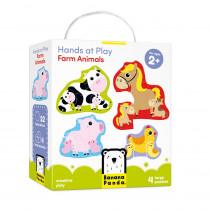 Hands at Play Farm Animals - BPN33685 | Banana Panda | Floor Puzzles