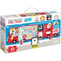 Make-a-Match Puzzle Fire Truck - BPN49044 | Banana Panda | Floor Puzzles