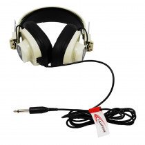 CAF2924AV - Monaural Headphone 5 Straight Cord 50-12000 Hz in Headphones