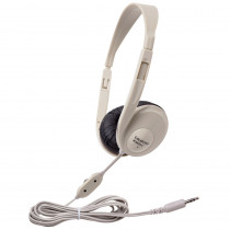 CAF3060AV - Translucent Multimedia Stereo Head Phones Beige in Headphones