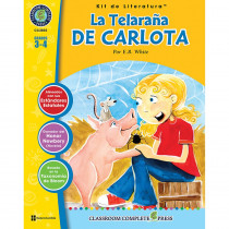 CCP2802 - La Telarana De Carlota Lit Kit Spanish in Books
