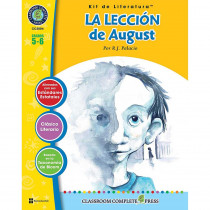 CCP2804 - La Leccion De August Literature Kit Spanish in Books