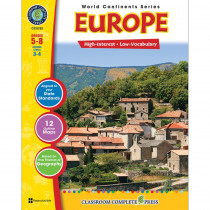 CCP5752 - World Continents Series Europe in Geography