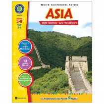 CCP5754 - World Continents Series Asia in Geography