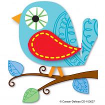 CD-103037 - Boho Birds Bookmarks in Bookmarks