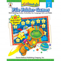 CD-104050 - Colorful File Folder Games Gr 2 in Language Arts