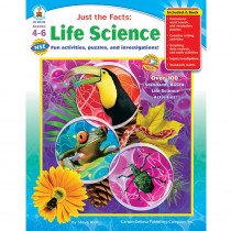 CD-104136 - Just The Facts Life Science Books Gr 4-6 in Life Science