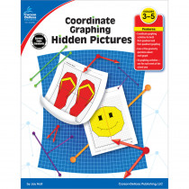 CD-104288 - Coordinate Graphing Hidden Pictures Gr 3-5 in Activities