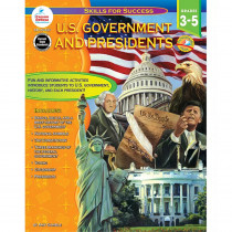 CD-104323 - Us Government And Presidents Gr 3-5 in Government