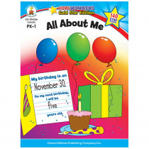 CD-104336 - All About Me Home Workbook Gr Pk-1 in Skill Builders