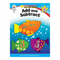 CD-104366 - Add & Subtract Home Workbook Gr 2 in Addition & Subtraction