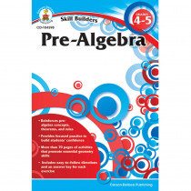 CD-104398 - Skill Builders Pre-Algebra in Algebra