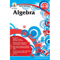 CD-104399 - Skill Builders Algebra in Algebra