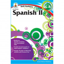 CD-104410 - Skill Builders Spanish Level 2 Gr 6-8 in Foreign Language