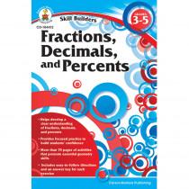 CD-104412 - Skill Builders Fractions Decimals & Percents in Fractions & Decimals