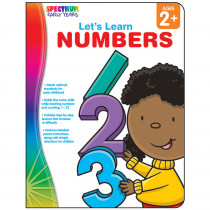 CD-104458 - Lets Learn Numbers Spectrum Early Years in Math