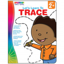 CD-104462 - Lets Learn To Trace Spectrum Early Years in Tracing