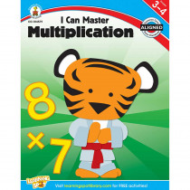 CD-104579 - I Can Master Multiplication Gr 3-4 in Multiplication & Division